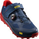 Mavic XA Pro Shoes Men Majolica Blue/Majolica Blue/Fiery Red